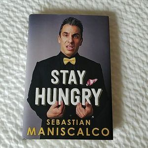 Brand new *Signed* Sebastian Maniscalco book